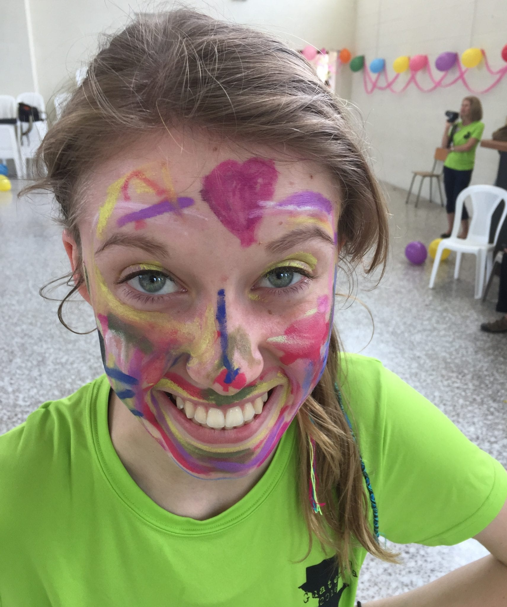 service face painting